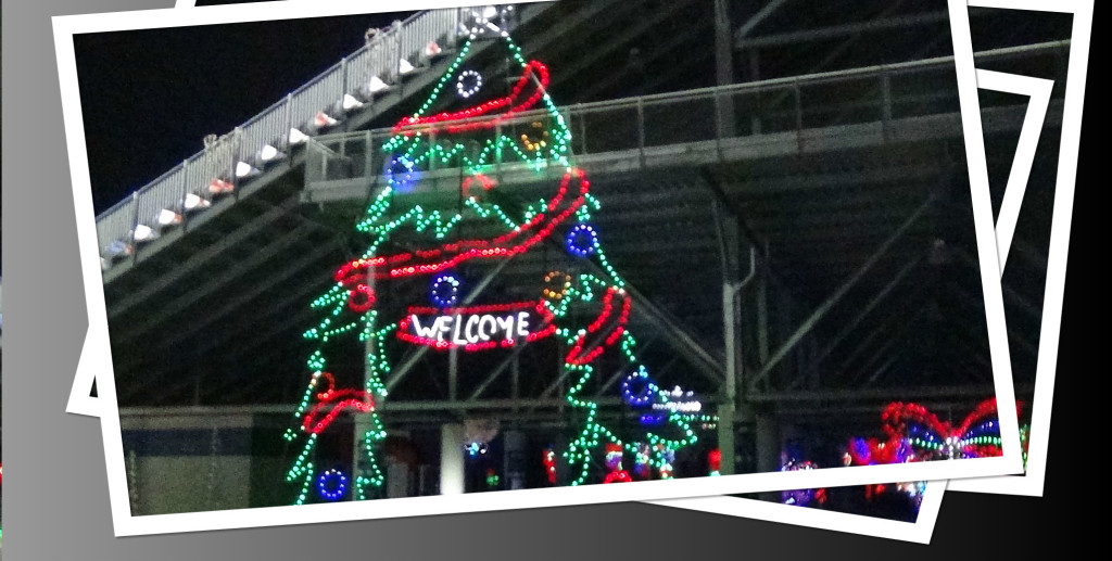 Glittering Lights Are Back At The Las Vegas Motor Speedway