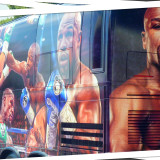 Interesting pictures before Mayweather vs. Pacquiao fight at MGM Grand