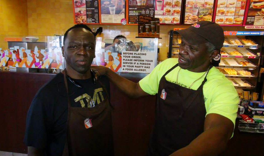 Jeff and Floyd Mayweather Sr.