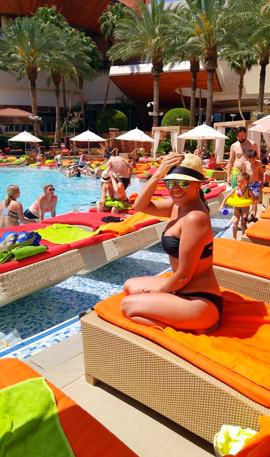 Red rock casino pool free for locals