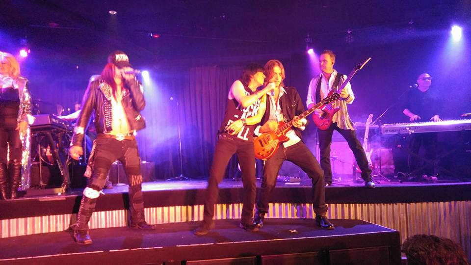 Rock Fantasy at Hooter's Casino brings music legends together for a